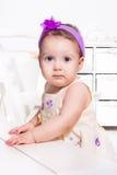 Lovely baby girl Stock Image
