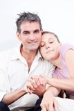 Portrait of Lovely Couple Stock Images