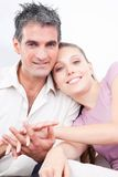 Portrait of Lovely Couple Royalty Free Stock Images