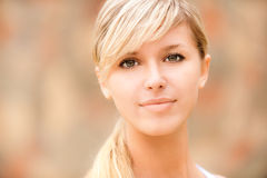 Portrait of lovely girl stock photography