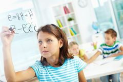 Schoolwork Royalty Free Stock Photos