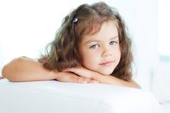 Calm girl Stock Photo