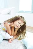 Calm girl Royalty Free Stock Photography