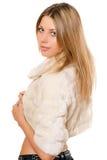 Portrait of lovely girl Stock Image