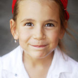 Portrait of a lovely little girl Stock Photography