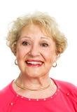 Portrait of Lovely Senior Lady Stock Photo