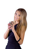 Portrait of lovely teenage girl Royalty Free Stock Photography