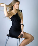 Portrait of lovely teenage girl Royalty Free Stock Photo