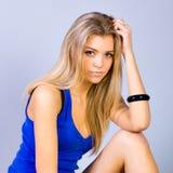 Portrait of lovely teenage girl Stock Image