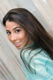 Portrait of lovely teenage girl Stock Photos