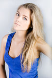 Portrait of lovely teenager Royalty Free Stock Images