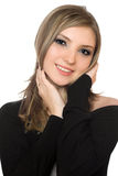 Portrait of a lovely young woman Royalty Free Stock Image