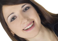 Portrait of a lovely young woman Stock Image