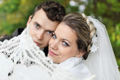 Portrait of lovers Stock Image