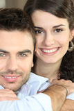 Portrait of a loving couple Royalty Free Stock Images