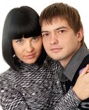 Portrait of loving couple Royalty Free Stock Images