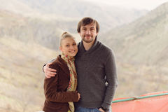 Portrait of Loving Couple Royalty Free Stock Photo