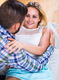 Portrait of loving couple Royalty Free Stock Photos