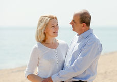 Portrait of loving mature couple Stock Photography