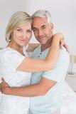 Portrait of a loving mature couple Stock Images