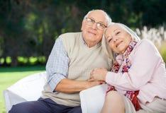 Portrait Of Loving Senior Couple Stock Photos