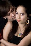 Portrait of the loving young couple Stock Image