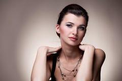 Portrait of luxury woman Stock Images
