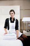 Portrait Of A Maid Stock Photography