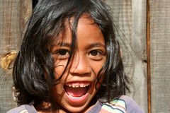 Portrait of a malagasy girl Royalty Free Stock Photo