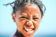 Portrait of a malagasy girl Royalty Free Stock Photography
