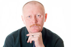 Portrait of male adult Stock Photo