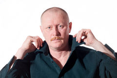 Portrait of male adult Royalty Free Stock Images