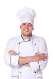 Portrait male chef. Worker, portrait Royalty Free Stock Image
