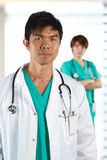 Portrait of a male doctor Royalty Free Stock Image