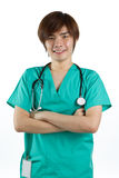 Portrait of a male doctor Stock Photo