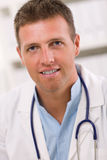 Portrait of male doctor Stock Photos