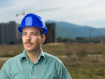 Portrait of male engineer Stock Image