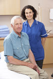Portrait of male and female osteopath Stock Photo
