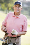 Portrait Of A Male Golfer Stock Images