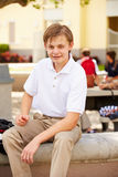 Portrait Of Male High School Student Wearing Uniform Royalty Free Stock Photo