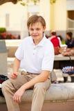 Portrait Of Male High School Student Wearing Uniform Royalty Free Stock Photo