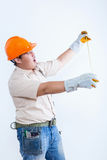 Portrait of male mechanic Stock Images