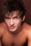 Portrait of  male model Stock Image