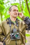 Portrait of male photographer Stock Image