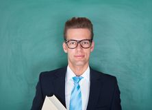 Portrait Of Male Professor Royalty Free Stock Images