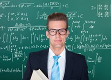 Portrait of male professor Royalty Free Stock Photos