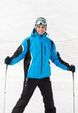 Portrait of male skier Royalty Free Stock Photo