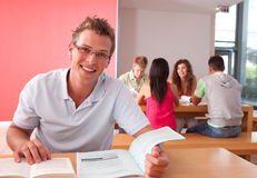 Portrait of Male Student Royalty Free Stock Photo