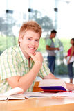 Portrait of male student Royalty Free Stock Image