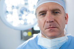 Portrait of male surgeon Stock Images